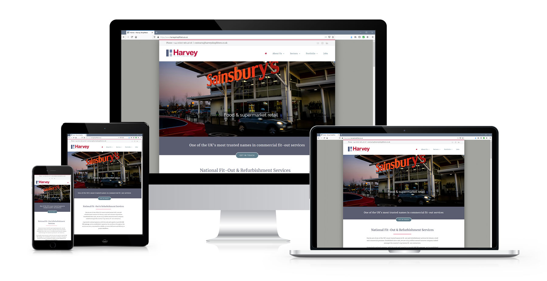 Portfolio Harvey Shopfitters