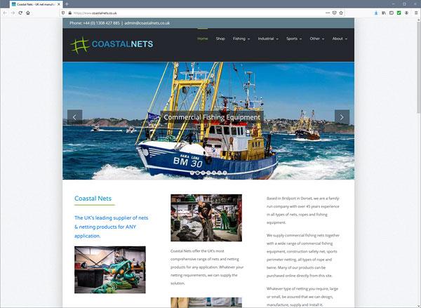 Coastal Nets web site