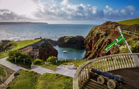 Burgh Island hotel Devon UK