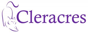 Cleracres cattery logo