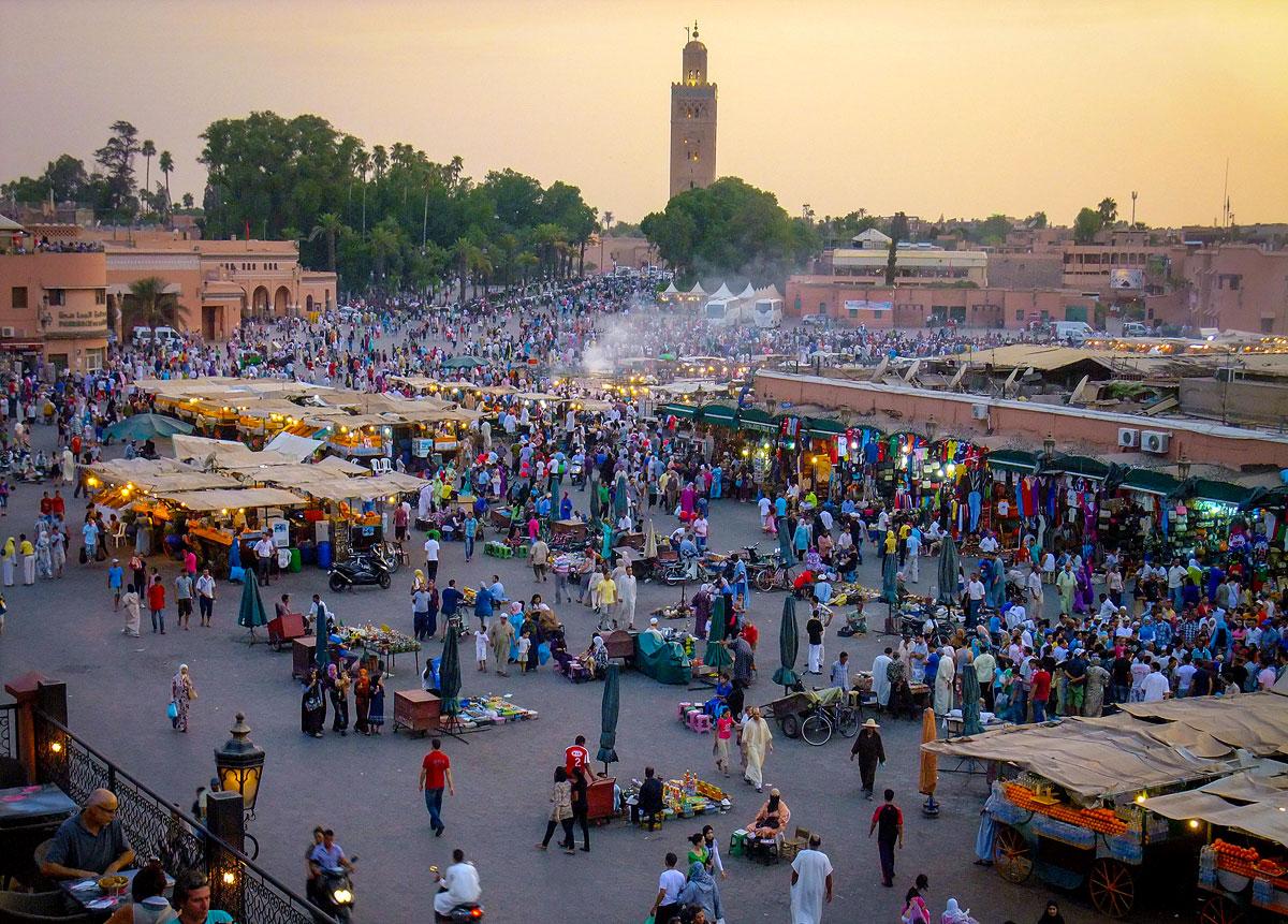 Jemaa el-Fnaa Marrakech Morocco