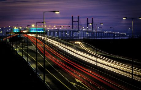 Second Severn bridge Prince of Wales M4