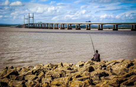 Second Severn bridge M4 Severn Beach