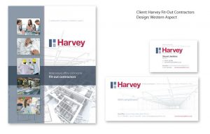 Harvey stationery set